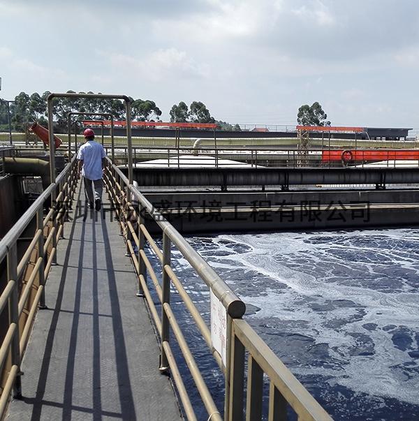 污水处理厂除臭现场